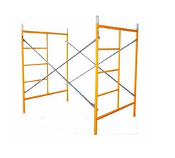 Yellow Scaffolding Frame