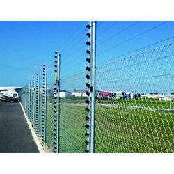 1.2-2.2m Silver Electric Security Fence