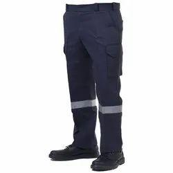 Superb Uniforms Cotton Blue Trouser, Size: 32 To 44