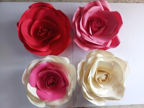 Giantbig Paper Roses Various Types At Rs 100 Piece Paper