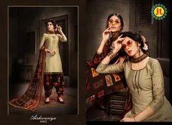 Cotton,Pure Jamm Jt Aishwariya Dress Material
