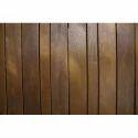 Wooden Brown Rectangular Wall Panel