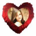 Heart Shape Cushion Cover