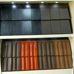 Marble Terracotta Color Coated Clay Tile