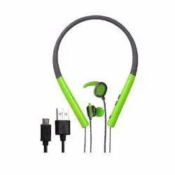 Green Tube Stereo Bluetooth Headset