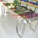 Stainless Steel Fruit And Vegetable Heaper