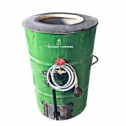 Green Gas Drum Tandoor