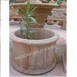 Stripped Pot