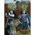 24 Inch Marble Radha Krishna Standing Statue