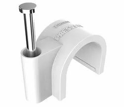 Press Fit Round Cable Clips 14 mm