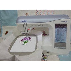 Single Head Logo Embroidery Machine