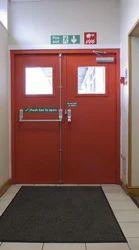 Commercial Fire Application Door