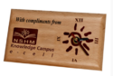 Corporate Gift Wooden Clock