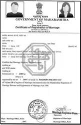 Marriage Certificates Services and Birth Certificates