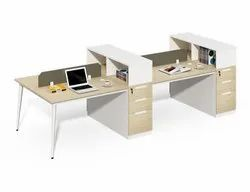 Office Furniture Workstation I Four Seat Modular Office Cubicle Workstation