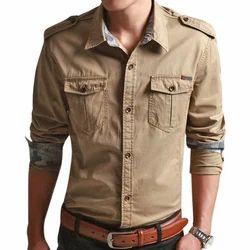 44 Cotton Mens Casual Shirt