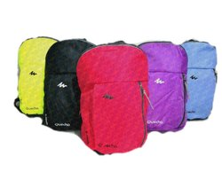 Polyester Plain Shoulder Backpack, Capacity: 11L, Size: 159.5*4.5
