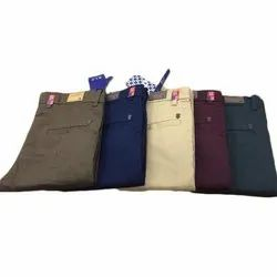 Regular Fit Casual Mens Cotton Trouser, 28-36 inch