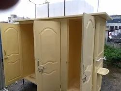 FRP Prefabricated Two Seater Toilet