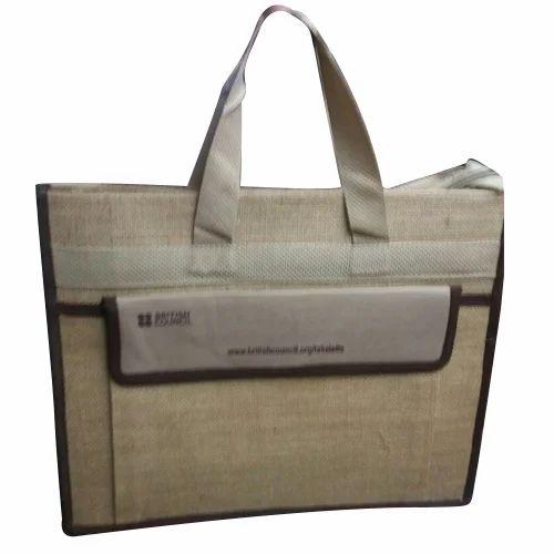 Printed Office Jute Bag