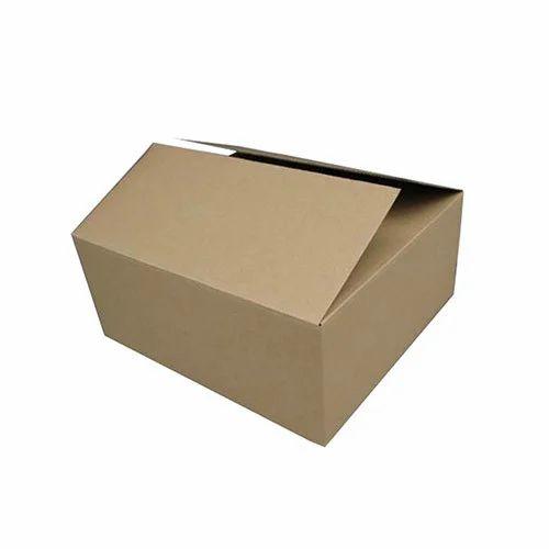 Brown Jaishree Cartons Garment Packing Master Cardboard Box