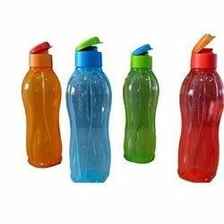Tupperware LDPE Plastic Optional Flip Top Plastic Water Bottle
