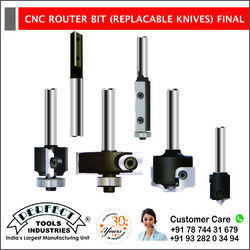 CNC ROUTER BIT (REPLACABLE KNIVES) FINAL