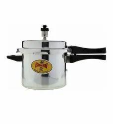 Ganga Aluminium Pressure Cookers, Capacity: 7.5 L