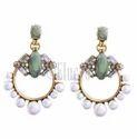 Eluceo Fashion Pearls Big Bohemian Earrings
