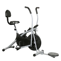 Albio Cycle Exerciser Or Air Bike ( Back Support & Twister)