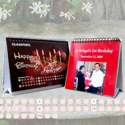 Table Calendar Printing Services, Dimension / Size: Standarised
