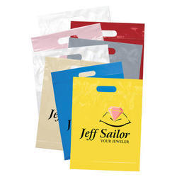 Printed D Cut Carry Bags, Size: 3x4 to 30x50 Inch