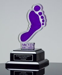 3d Engraving Acrylic Trophy