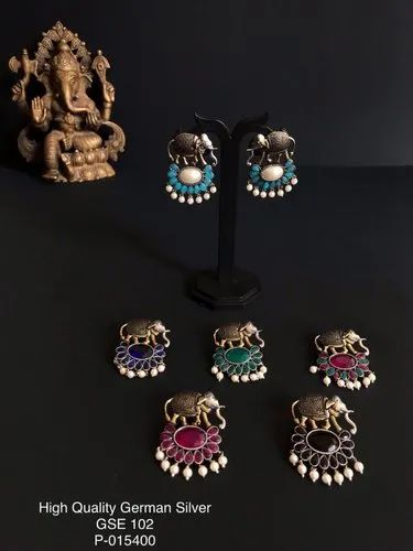 Bali Oxidized Earrings