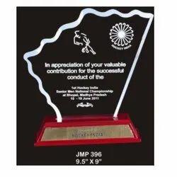 JMP 396 Award Trophy
