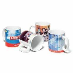 Printed Ceramic Coffee Mug for Promotional, Packaging Type: Box