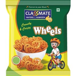 Masala Classic Salted Crunchy and Crispy Wheels Wafers, Packaging Size: 25 Gm