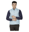 Inspire Linen Modi Jacket (Light Blue)