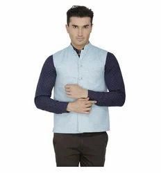 Inspire Linen Modi Jacket (Light Blue)