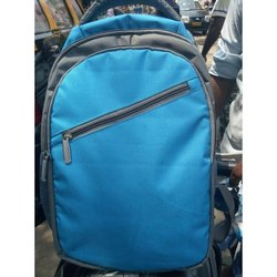 Blue-Grey College Bag