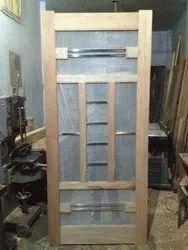 Wide Strips Iron With Steel Jaali Door