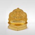 Clay Incandescent Lakshmi Diya