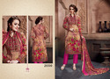 Glace Cotton Printed Casual Wear Salwar Kameez