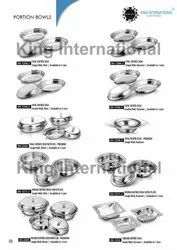HOTELWARE STEEL ITEMS SERVING DISHES