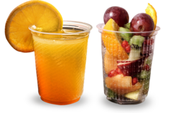 Plastic Disposable Cold Drink Glass