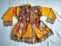 Indian Kutch Embroidered Kediya - Handmade Kediyu - 32 Size - 10 to 12 Year