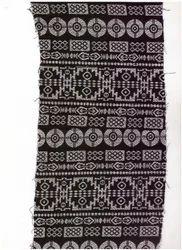 Printed Brown Cotton Woven Jacquard Fabric