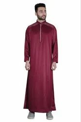 Men Islamic Wear Full Sleeves Thobe Jubba