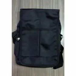 Nylon Black Sling Bag