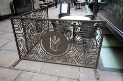 Free Standing Screen Laser Cut Screens and Panels